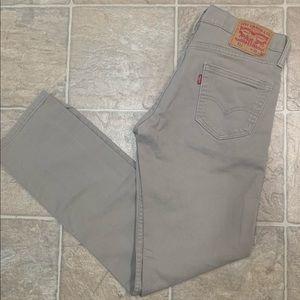 Levi's 511 khaki men's jeans  30x32.